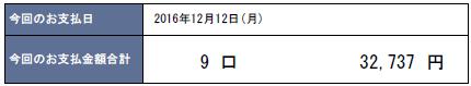 2016年12月支払い:32,737円